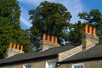 picture of some chimneys